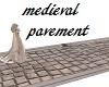 medieval pavement