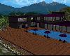 Purple and Black Mansion