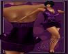 MB Purple Brocade Halter