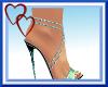 W| Sexy Mint Heels