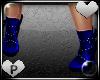 ! Diamond Boot Blue