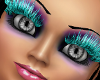 !   Teal Club Lashes