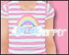Kid Rainbow Pj Top