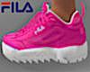 Neon Pink FILA