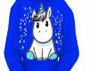 Unicorn Sweater Blue