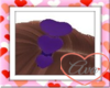 Headband Hearts Purple