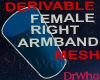 Fem Right Armband Mesh