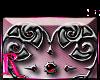 *R* Gothic Heart Sticker