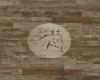 Horse Logo in Wood Floor