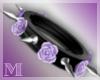 AM:: Spiked Rose Cuff R