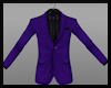 MaleSuitTop Purp/Blk