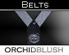 [O] Silver/Black Belt