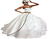 b/w/g wedding gown