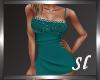 (SL) Sandy Teal Dress