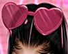 Heart Glasses Pink