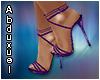 zapatos noche violet
