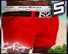 ! Chino Shorts Red