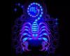 Zodiac Scorpio Neon Sign