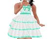 Flat Green Fancy dress