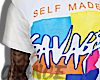 White Savage T-Shirt