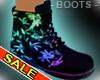Neon Rave Colour Boots