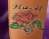 ~AS~ Hazel rose tattoo