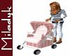 MLK Pink Stroller