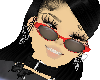 eyeglasses red