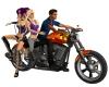 Halloween Pse Motorcycle