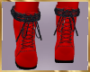 A90 Red Kadee Ankle Boot