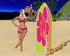 Hawaii Aloha Surf Board