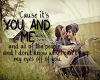 LIFEHOUSE- YOU AND ME