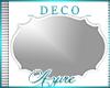 *A* Deco Mirror WHITE