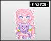 """K Candy Nights Badge"
