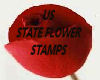 STATE FLOWER STAMPS 1