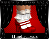 H_Red Mary janes /Socks