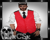 CS Mens Vest Red