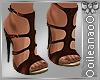 (I) Brown Heels