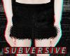 | 90s velvet fur skirt |
