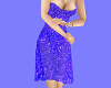 !BD Blue Sparkling Dress