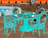 tables teal eli fabrizio