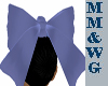 *MM* Alice blue bow