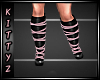 ! Strapy Boots Pink