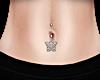 Butterfly Belly Piercing