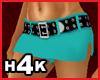 H4K Belted Mini Teal