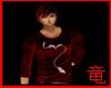 [竜]Red Love Shirt