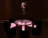 PINK & BLACK DANCE TABLE