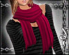 [W] Scarf - Red