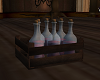 Potion Bottles in crate