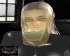 Gold face Veil
